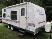 This super clean 22? RV is priced to sell. Replaced
