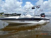 Procraft 170 Combo Fish and Ski with Mercury 125hp.