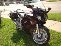 2007 Yamaha FJR. Very clean, 18000 miles, adjustable