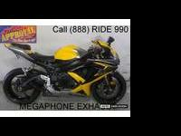 Used 2008 Suzuki GSXR600 crotch rocket for sale - only