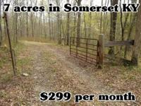 7 acres, Somerset, KY (Pulaski County) This property is