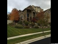 Beautiful Corner Canyon home, loaded with upgrades,