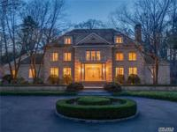 Magnificent Young Brick Manor Secluded On 5 Manicured