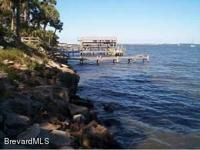 Indian River deep water lot 100 ft X 407 Ft. Located on