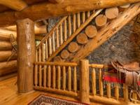 Custom, Hand Built, 7200 sq. ft. Log Cabin - One of a
