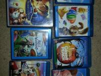 7 blu-ray discs, numerous have actually dvd or other