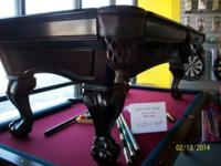 I have an 7' slate Forsyth swimming pool table by C.L.