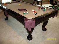 CL BAILEY VERONA SOLID MAPLE POOL TABLE For Sale In Springfield - Cl bailey pool table