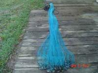 "7"" cast net, 1"" mesh size, exellent condition, comes"