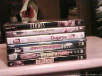 *Seven DVD movies that I have watched and enjoyed very