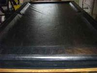7 Foot Pool Table in Excellent Condition. 1 Inch Slate,
