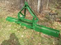 7 FT ARENA LEVELER, 3 POINT HITCH, HEAVY DUTYM GREAT