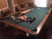 7 ft. pool table      decent condition......need to