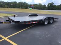 Kaufman Deluxe 7000 GVWR Car Trailer is built with a
