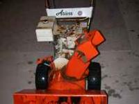 Ariens 7 hp. snow blower new ware bars , runs, used