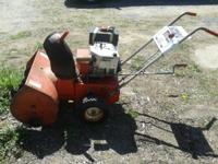 I have a 7 hp craftsman snoblower for sale I need to