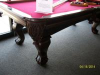 I have an 7' slate pool table by Imperial Pool Tables.