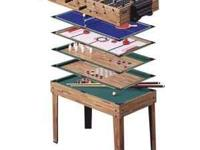 7 in 1 Game Table Classic Junior Family Game Center