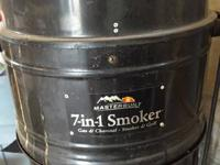 7 in 1 Masterbuilt Gas Smoker  Works great.  About 5
