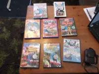 the newest dvds of thomas the train movies! about 7