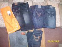I Have 7 PAIRS OF MEN'S JEANS OR JEAN SHORTS IN A FEW