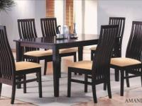 7 Pc Dining Set / Upholstered Chairs To View This Item