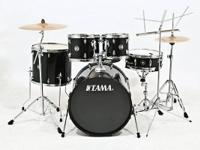 Up for sell a COMPLETE 7 Pcs. nice Black TAMA Swingstar