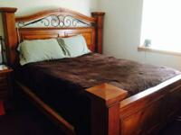 Extremely good bed rooms set. Consisting of King size