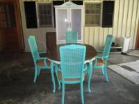 Cast Aluminum - Rust Free Set Includes: 6 swivel chairs