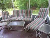 I have a 7 piece Winston patio furniture set that I