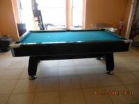 7' pool table and accessories Contact Lou at  Location: