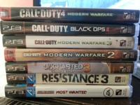 I have all the ps3 games you see in picture for trade