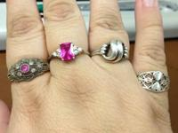 I have 7 different styles of rings for sale. All are