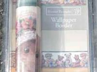 7 Rolls of Teddy Bear Wallpaper Borders $3 each or all