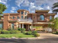 Spacious custom home with Porte-Cochere. Full Height