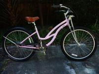 This is a like new ladies Trek 'Bonnie' ladies bike.
