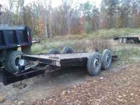 7 ton tilt trailer 900.00 or trade for farm equipment