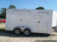 7 x 14' Concession Trailer, your choice of exterior