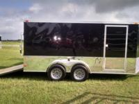 7 x 14 Enclosed Cargo Trailer SOUTH GEORGIA CARGO BRAND