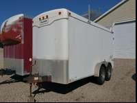 7' x 16' Enclosed Utility Work Trailer -This trailer