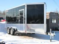 New Aluma 7' x 14' Enclosed Motorcycle Package Trailer