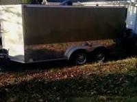 2010 Araising industries enclosed trailer developed