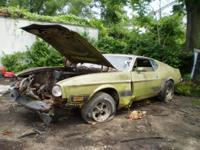 Descripción 70 71 72 73 MUSTANG MACH 1 OEM PARTING OUT