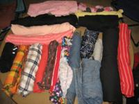 All different types, sizes, and styles of clothing.