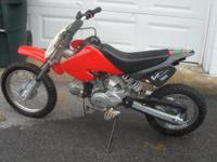 I have a very nice 70 cc 4 stroke automatic