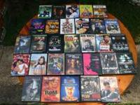 70 DVDs In Excellent Condition. Western, Comedy, Drama,
