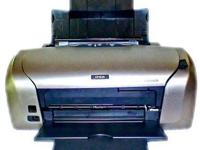 Epson Stylus R220 Digital Photo Color Inkjet Printer