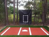 Best size batting cage frame and netting 12x14x70 ft.