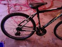 I am selling my huffy scout 21 speed mountain bike. I