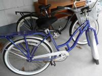 We have a newly serviced Schwinn Delmar Cruiser bike,